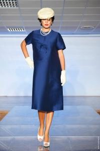 robe manteau blu anno 1950