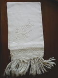 """asciugamano lino d'olanda - """"La Camelia Collezioni"""""""