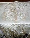 """asciugamano puro lino particolare - """"La Camelia Collezioni"""""""