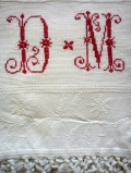 """asciugamano tessuto bandera particolare - """"La Camelia Collezioni"""""""