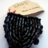 """bottoni per abbellimento jaiss neri particolare- """"La camelia Collezioni"""""""