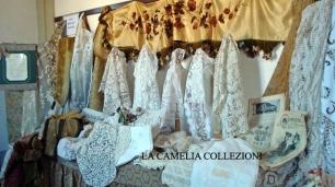 pizzi trine merletti esposizione 2 - la camelia collezioni