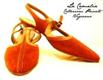 """Calzature d'epoca - scarpe in crosta - """"La Camelia Collezioni"""""""