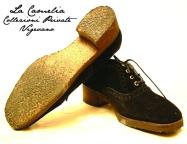 """calzature d'epoca - scarpe con suola rubber - """"La Camelia Collezioni"""""""