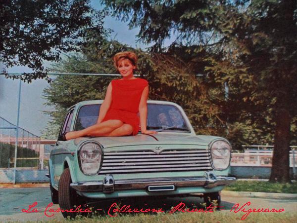 Innocenti derivata dalla inglese BMC 1100 pubblicità su Quattroruote del 1964