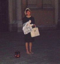 """Sagrato del Duomo - """"Ada Mombelli"""" moglie di Antonio Mombelli, il maestro di Vigevano"""