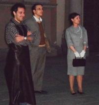 Sagrato del Duomo - Luisa -moglie del Micca, Lucio Mastronardi e il ciabattino