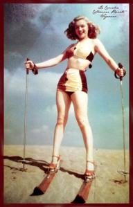 """marilyn monroe anno 1948-""""La Camelia Collezioni"""""""