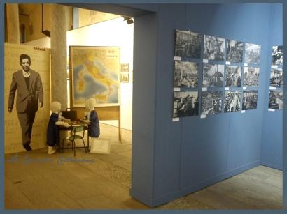 """allestimento """"la scuola anni 60"""" - Lucio Mastronardi """"Il maestro di Vigevano"""" 27 ottobre 2012"""