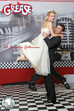 "shooting grease- ""Danny e Sandy, scena del ballo"""