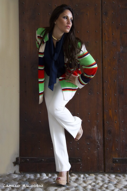 completo anni 70 da giorno - giacca Roberta Dicamerino