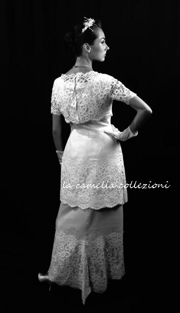 la - camelia - collezioni-abito da sposa anni 60