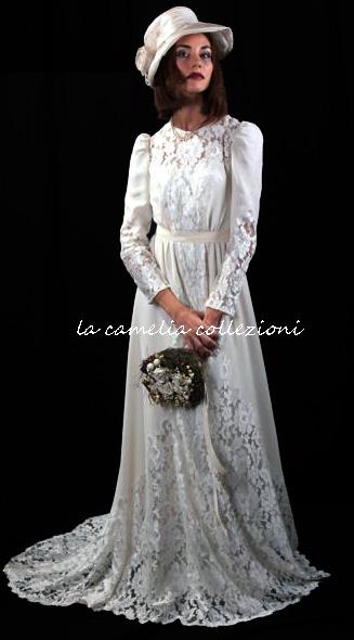 vestito -da- sposa -anni -40 la- camelia -collezioni