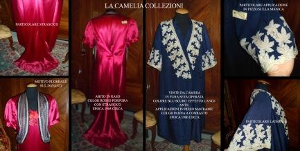 ELEONORA DUSE - saggio abiti - la camelia collezioni