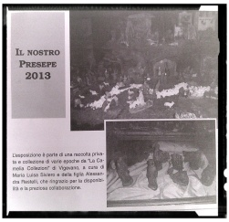 AURORA DELLA LOMELLINA 2013 - presepi a cura de la camelia collezioni