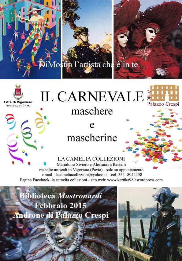 esposizioni tema carnevale la camelia collezioni - febbraio 2015.