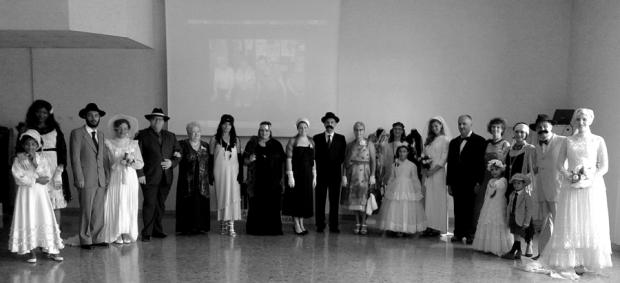 foto di gruppo 12 giugno 2016 - rsa Casa Serena