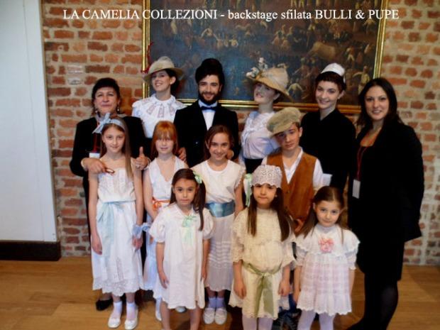 la camelia collezioni - backstage sfilata BULLI & PUPE