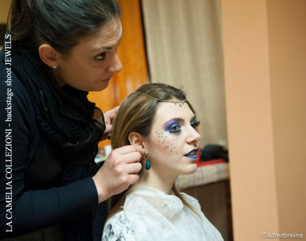 la camelia collezioni - backstage shoot JEWELS