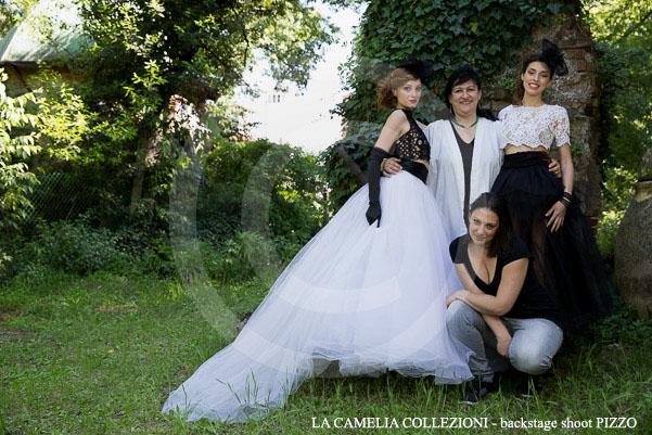 la camelia collezioni - backstage shoot PIZZO
