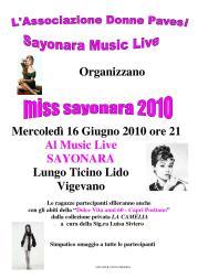 miss sayonara 2010 - la camelia collezioni