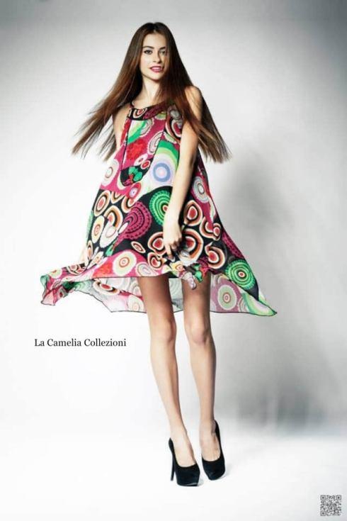 moda anni 70 - prendisole optical - la camelia collezioni