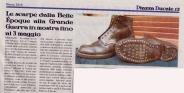 rassegna stampa - piazza ducale marzo 2015 - mostra scarpe