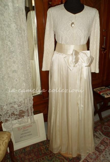 vestito-da-sposa-anni 20 - anni 30 - la camelia collezioni