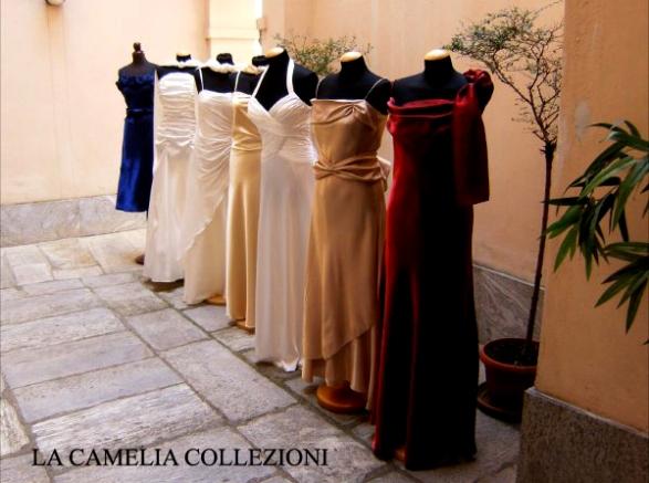 vestiti da sera cocktail cerimonia - la camelia collezioni