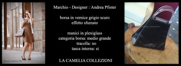 borsa in vernice marchio pfister - la camelia collezioni