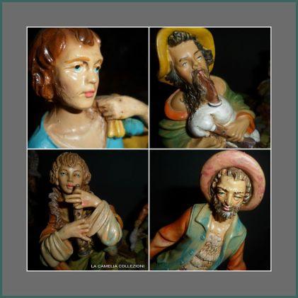P r e s e p e • t r a d i z i o n a l e • s t o r i c o dalla nostra collezione di presepi dal secolo 800 agli anni 70 ( suddivisi in 4 categorie) , alcuni personaggi rappresentati da statuine autentiche d'epoca dipinte a mano i cui colori si sono mantenuti perfettamente nel tempo