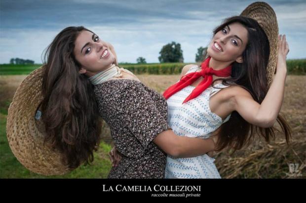 vestiti-mondine-e-accessori-vestiti-ragazze-di-campagna-maron-a-fiorellini-e-bianco-a-motivo-greca-azzurro-la-camelia-collezioni