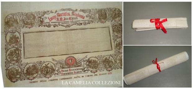 sacra sindone savoia - la camelia collezioni