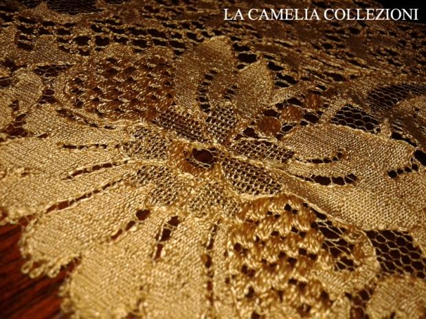 Blonde francese in filo di seta fine 700 - la camelia collezioni