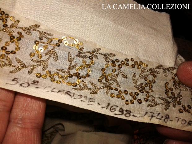 passamaneria guarnizione in taffettas di seta fine 600 - la camelia collezioni