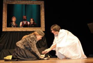 costumi scena - costumi teatrali - stasera checow 1 - la camelia collezioni