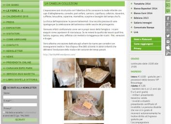 chrome 18/06/2015 , 13:46:14 LA CAMELIA COLLEZIONI | Parco Esposizioni Novegro - Google Chrome