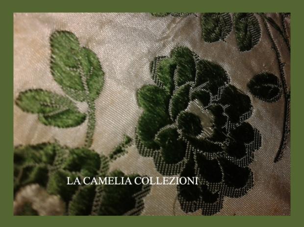 passamaneria in taffettas floreale fine 700 - la camelia collezioni