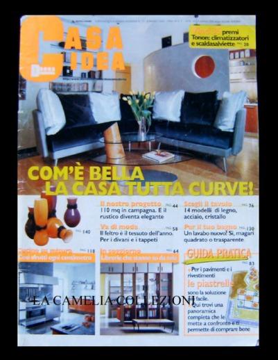 rivista casa idea - copertina - la camelia collezioni