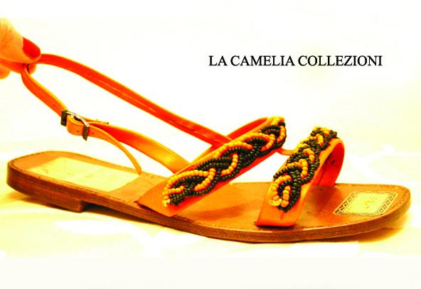 calzature d'epoca - sandali-con-perline-vetro-venezia-colore-arancio-e-nero-la-camelia-collezioni.jpg