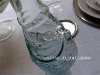 tavole vintage - bottiglia in vetro per rosolio del 1800 - allestimento accessori & oggettistica - la camelia collezioni
