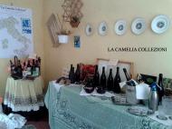 vini antichi d'epoca - allestimento tavole - la camelia collezioni