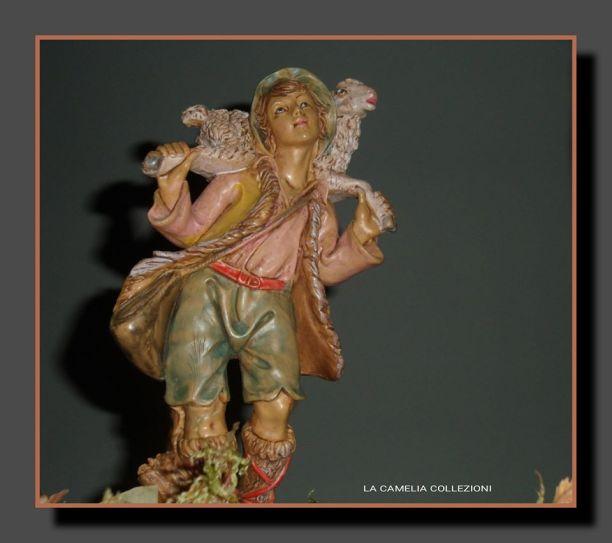 presepe tradizionale storico - statuine- pastorello - la camelia collezioni