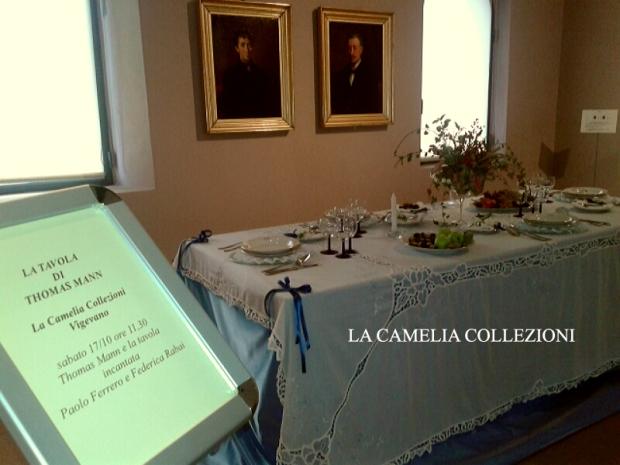 allestimenti tavole-tavole imbandite- la tavola incantata di thomas mann  - la camelia collezioni