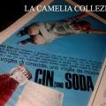 pubblicità anni 50 60 - cinzano soda- la camelia collezioni