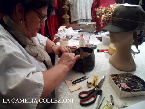 restauro berretti prima guerra mondiale - la camelia collezioni