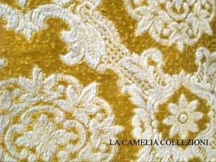 Copriletti del 1800 la camelia collezioni - Tessuto per copriletto ...