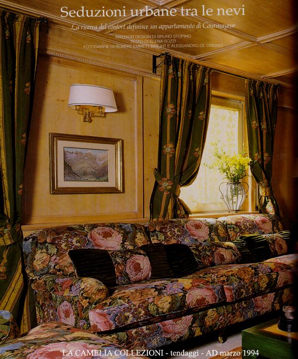 Riviste portali pubblicazioni la camelia collezioni for Arredo casa tende