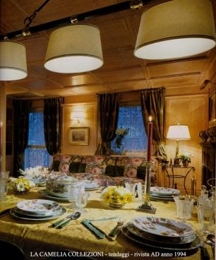 Tessuti antichi alto arredo la camelia collezioni for Arredo casa tende