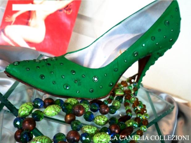 calzature e scarpe d'epoca - tacchi proibiti - marylin - la camelia collezioni